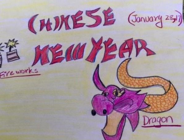 Chinese New Year - Jiya Patel
