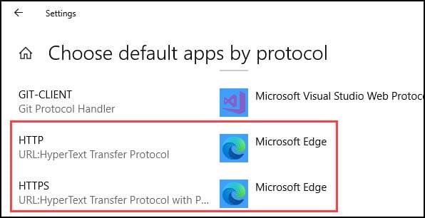 Microsoft Windows protocol mapping.