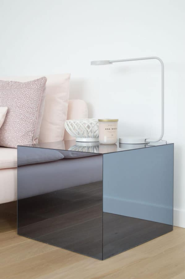 IKEA plexiglass table hack