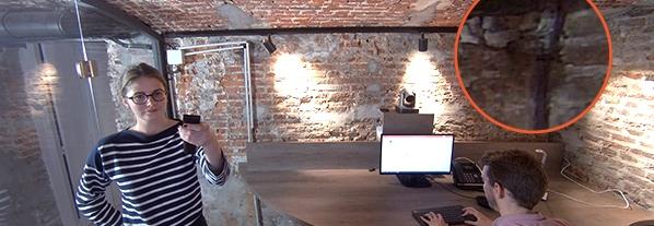 caméra travail collaboratif luminosité