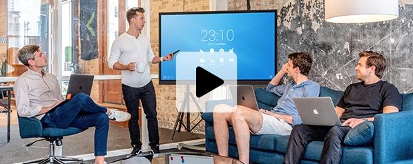 offres spéciales écrans interactifs travail hybride