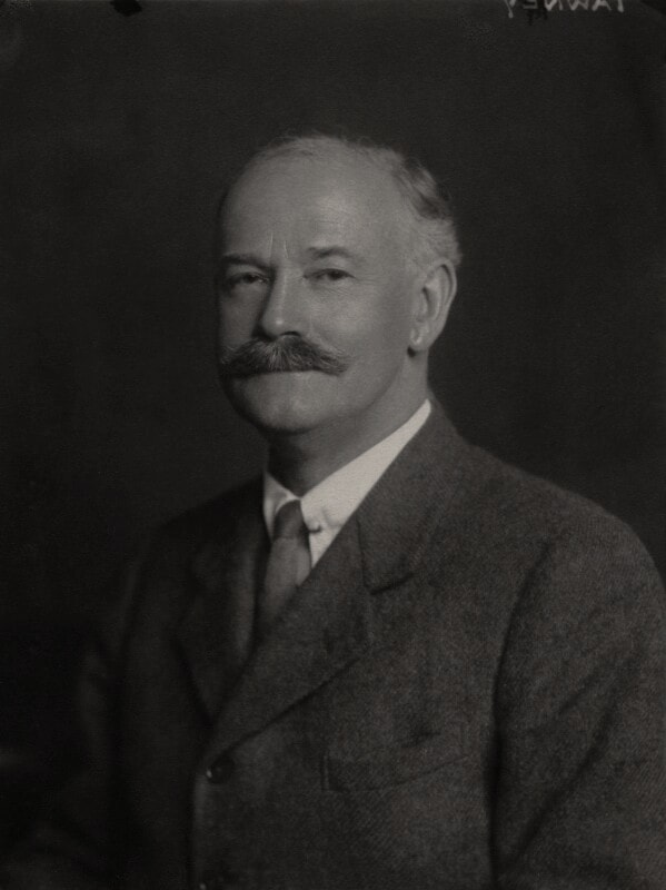 Richard Henry Tawney, by Walter Stoneman - NPG x65625. ccbyncnd2 licence
