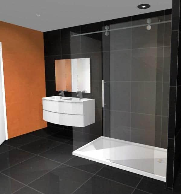Corner Shower 1800x900 Complete