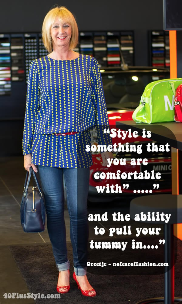 What is style by Greetje | 40plusstyle.com