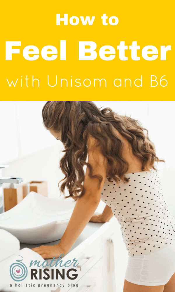 "Many women use Unisom and B6 and notice a dramatic decrease in morning sickness symptoms. Some even call Unisom and B6 ""the wonder cure""."