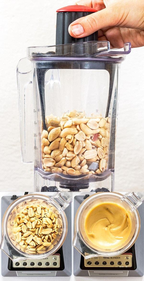 Making Peanut Butter in a Blendtec Blender