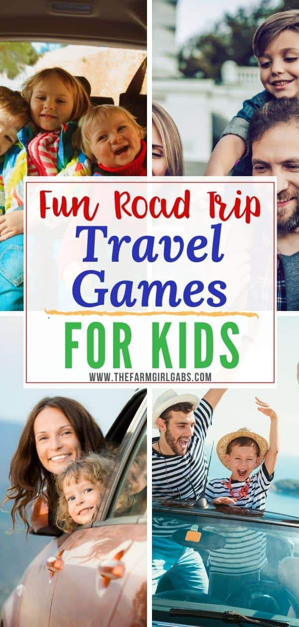 Planning a road trip with the family? These Fun Travel Games for Kids are a perfect way to keep the kids occupied on those long family vacation road trips. These travel games for kids will keep the whole family occupied for hours on your next family vacation. #travelgames #roadtrip #FamilyTravel
