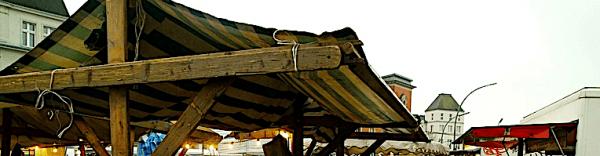 Wochen- und Bauernmarkt Kranoldplatz in Neukölln