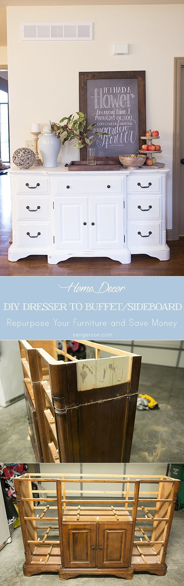 dresser to buffet and sideboard