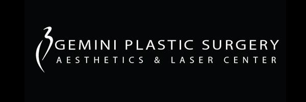 Gemini Plastic Surgery · Victoria Gardens · Rancho Cucamonga Logo