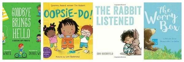 4 New Emotional Intelligence Picture Books