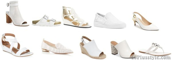 Different types of white shoes | 40plusstyle.com