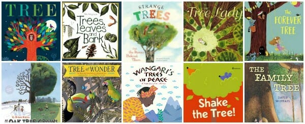 childrens books about trees for kids