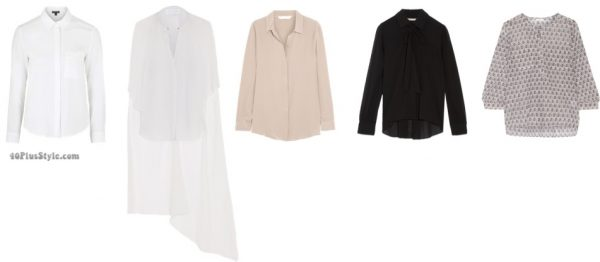 How to dress like Christine Lagarde style guide: button-down tops, suits, and sile blouses   40plusstyle.com