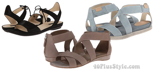 comfortable sandals from Ecco | 40plusstyle.com