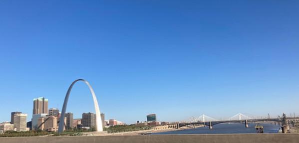 St Louis Arch Skyline
