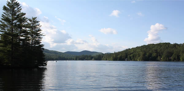 lakefront property in Vermont