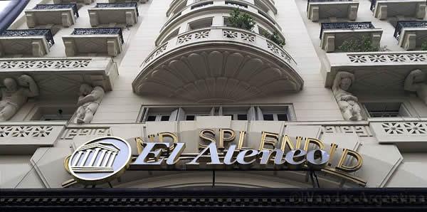 The exterior of the El Ateneo Gran Splendid bookstore