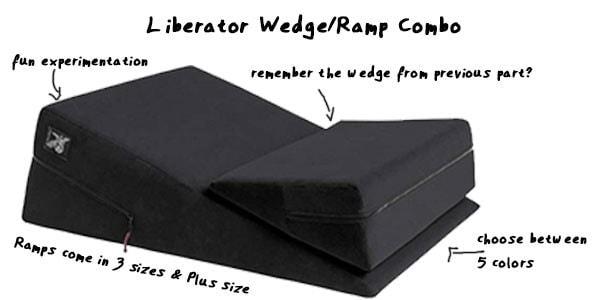 best liberator furniture - ramp / wedge combo