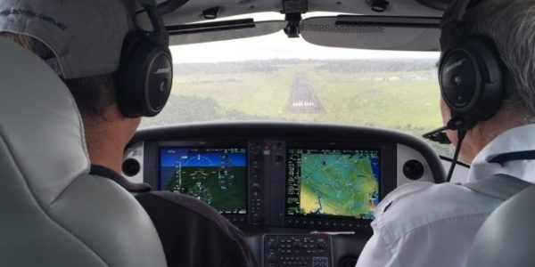 AAA CPL course flight training in Cirrus SR20