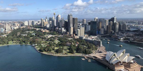 Sydney Harbour and CBD