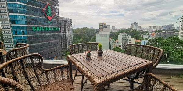 Au Lac Legend Saigon terrasse