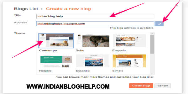 blog kaise banaye.how to start a blog
