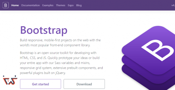 4.بوت استرپ bootstrap site