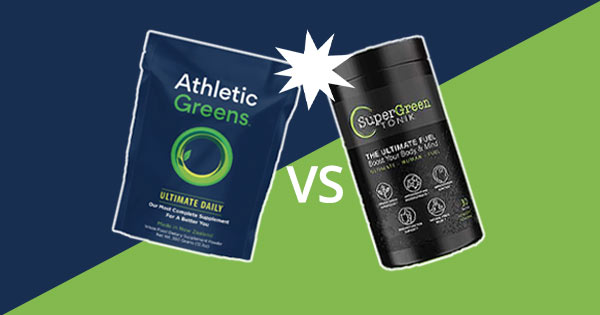 Athletic Greens vs Super Green Tonik