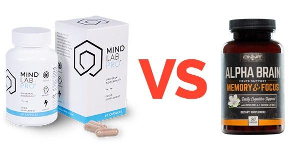 Mind Lab Pro vs Alpha Brain