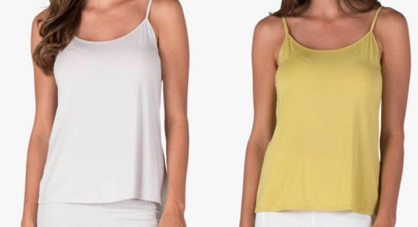basic modal camisoles | 40plusstyle.com
