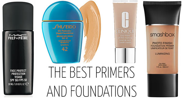 The best primers and foundations with spf protection