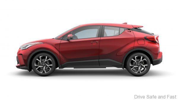 Toyota C-HR 2020 side profile