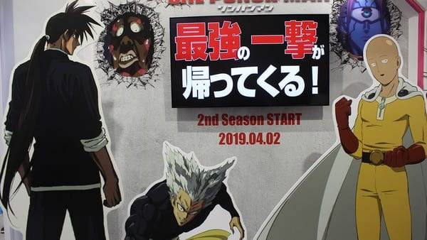 AnimeJapan 2019 review best booth one-punch man