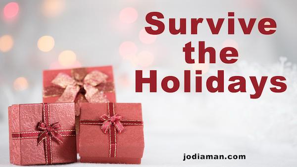handling holiday Stress