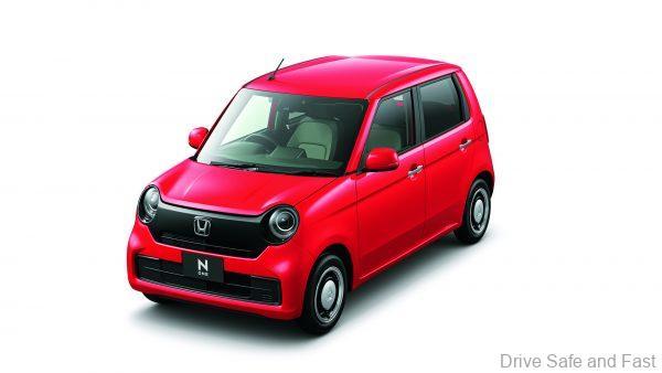 Honda N-ONE Kei Car_2021_red