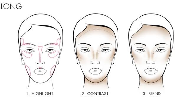 How to contour a long face | 40plusstyle.com