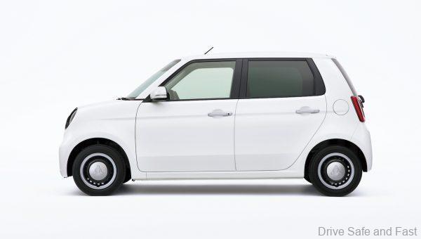 Honda N-ONE Kei Car_2021_side view