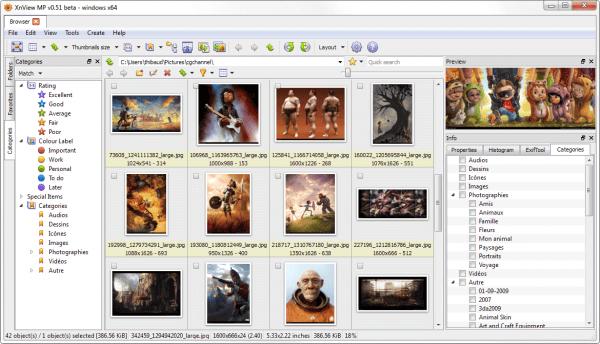 Meerdere foto's tegelijkertijd bewerken: met XNviewMP kan het!