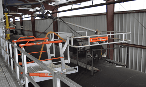 coordinated loading arm gangway fall protection 1