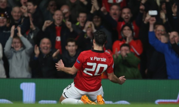 Robin-van-Persie-Manchester United-Olympiacos-Champions-League