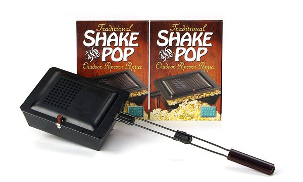 Shake and Pop Outdoor Popcorn Popper