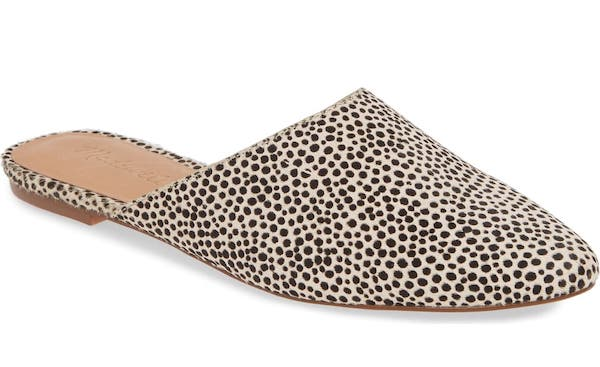 Read this post first for a sneak peek of the 20 MOST-WANTED pieces from the Nordstrom Anniversary Sale 2019 catalog. PLUS everything you need to know about which pieces are likely to sell out during the Anniversary sale Early Access with tips on how to score the best deals on shoes, clothes, bags, jackets and skincare products. Madewell Remi Genuine Calf Hair Mule.