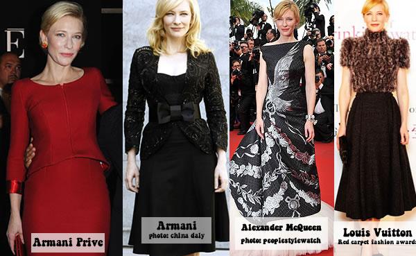 Stylish fashion icon: Cate Blanchett | 40plusstyle.com
