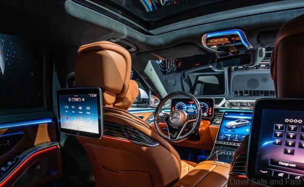 2021 Mercedes-S-Class Cabin