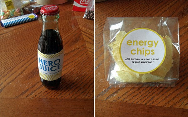 Hero Juice and Energy Chips