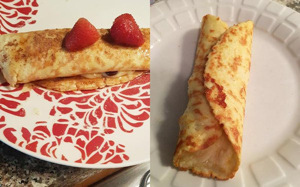 Crepe Pictures from Readers