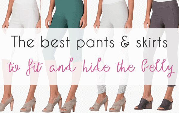 The best pants and skirts to fit and hide your belly 40plusstyle.com