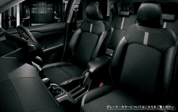 Perodua DL 55_front seats