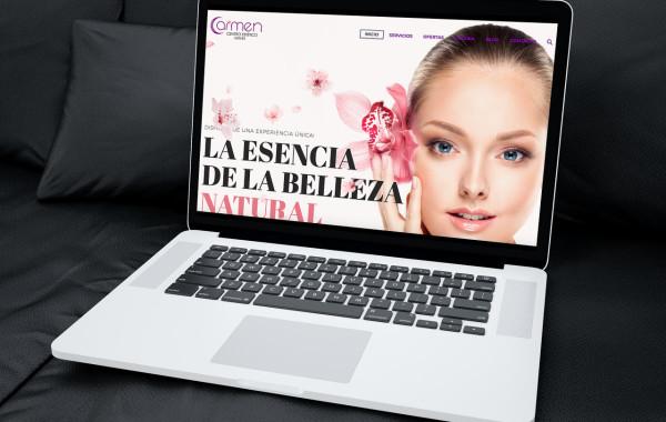 Web Carmen Estética Somosmarketers